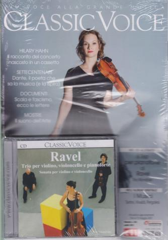 Classic Voice - n. 263 - mensile - aprile 2021 + Cd Ravel -