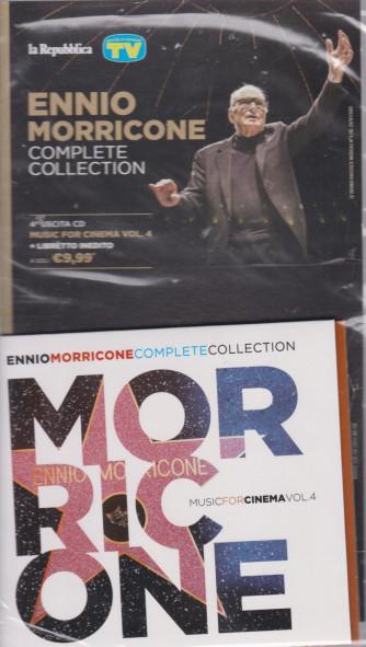 Gli speciali musicali di Sorrisi - n. 21 - 23/7/2021 -Ennio Morricone - Complete collection -quarta   uscita cd Muisc for cinema vol. 3 + libretto inedito