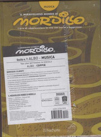"""IL MERAVIGLIOSO MONDO DI MORDILLO -  settima USCITA - ALBO """"Coppie'"""" + POSTER DA COLLEZIONE"""