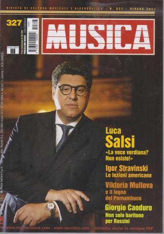 Musica -   n. 327 - mensile -giugno 2021