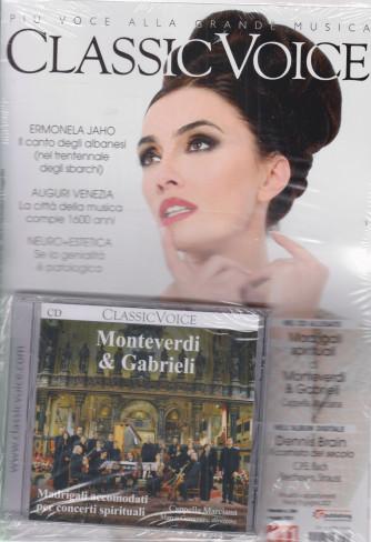 Classic Voice - n. 264 - mensile - maggio  2021 + Cd Monteverdi & Gabrieli - rivista + cd