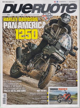 Dueruote +Le isole in moto - n. 193 -maggio  2021 - mensile - 2 riviste