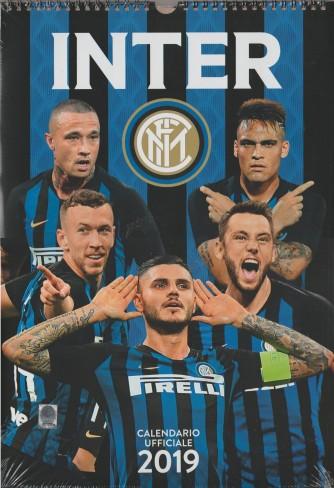 Calendario Verticale INTER  2019 - cm. 29 x 42 con spirale