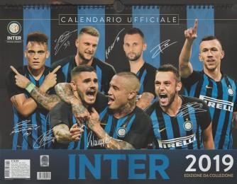 Calendario Ufficiale Inter 2019 - cm. 44 x 33 con spirale Orizzontale