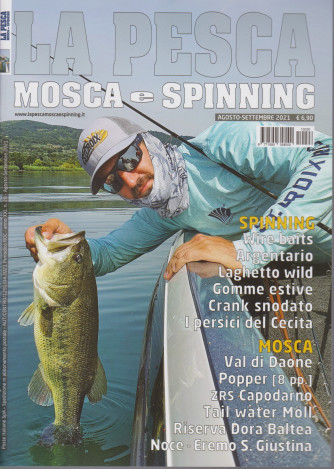 La Pesca -  Mosca e Spinning - n. 26 -agosto - settembre  2021