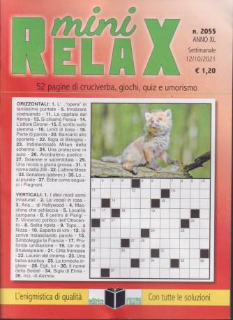 Mini Relax - n. 2055 - settimanale - 12/10/2021