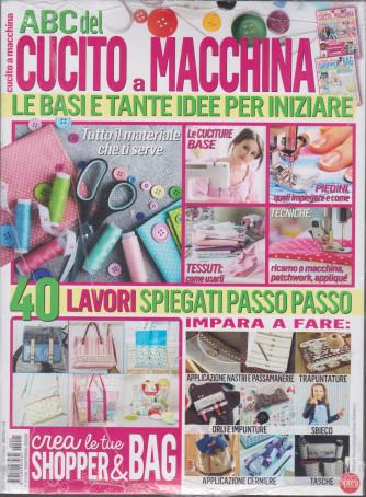 Abc del cucito a macchina - + Crea le tue shopper & bag - n. 1 - bimestrale - gennaio - febbraio 2021 - 2 riviste