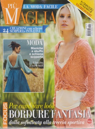 Piu' Maglia Extra - n. 17 - bimestrale -aprile maggio  2021 + in omaggio un numero di Vivere country - 2 riviste