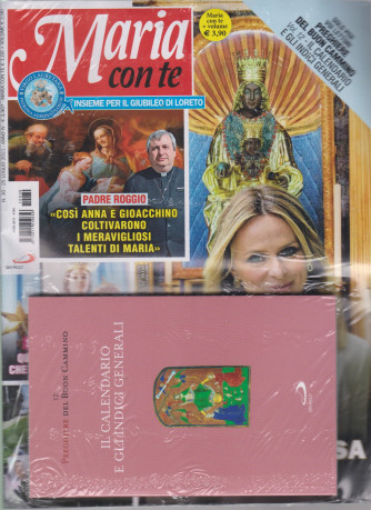 Maria con te - n. 30 - settimanale - 25 luglio 2021 + il libro Preghiere del buon cammino -  Il calendario e gli indici generali -  - Carlo Maria Martini - Vergine dell'ascolto - rivista + libro