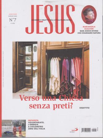 Jesus - n. 7 - luglio   2021-