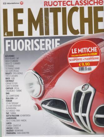 Ruoteclassiche - Le mitiche fuoriserie + Le mitiche scoperte - n. 106 - vol. 3 e 4 - 2 riviste