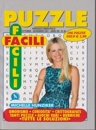 Puzzle Facili Facili - n. 46 - bimestrale -ottobre - novembre  2021 - 196 pagine