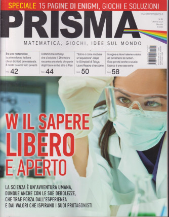 Prisma - n. 34 -ottobre 2021 - mensile