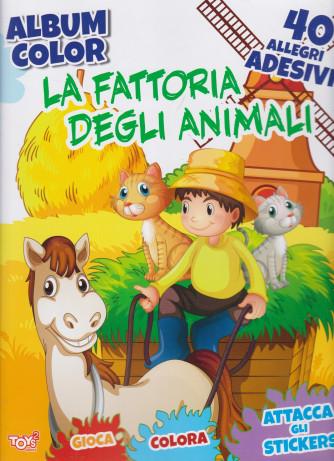 Toys2 Sticker Album color - La fattoria degli animali - n.40 - bimestrale - 11 febbraio 2021