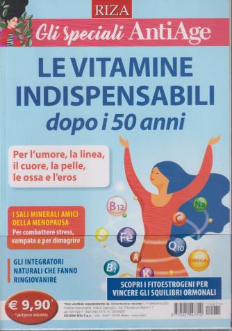 Alimentazione naturale - n. 71 - Le vitamine indispensabili dopo i 50 anni - settembre- 2021