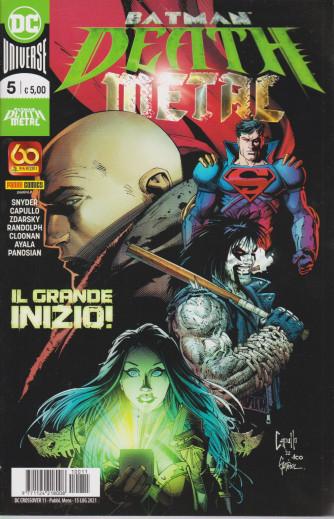 Batman Death Metal - n. 11 -Il grande inizio! -  mensile - 15 luglio 2021