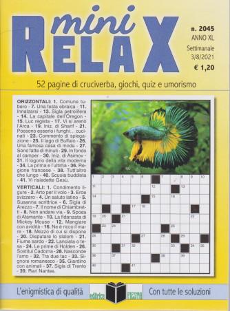 Mini Relax - n. 2045 - settimanale - 3/8/2021