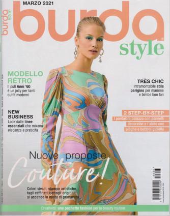 Burda style -  n. 3 - marzo 2021 - mensile -