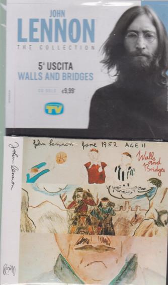 Cd Sorrisi Collezione 2 - n. 4 - John Lennon the collection -quinta  uscita  -Walls and bridges -   5/1/2021 - settimanale