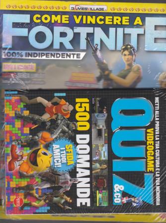 Come Vincere a Fortnite - + Quiz & Co. videogame - n. 3 - bimestrale - agosto - settembre 2021 - 2 riviste