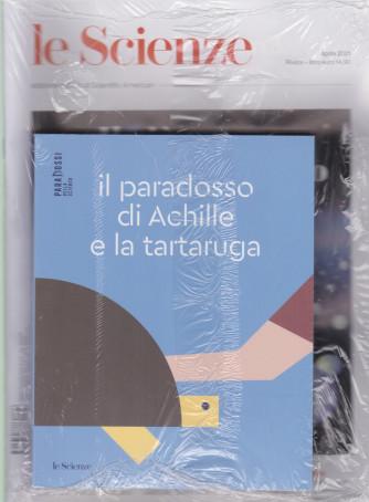 Le Scienze + Libro  Il paradosso di Achille e la tartaruga - n. 632 -aprile    2021 - mensile - rivista + libro