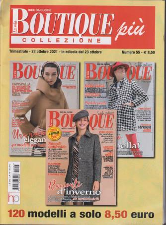 La mia boutique più collezione - n. 55 -  trimestrale - 23 ottobre 2021 - 3 numeri