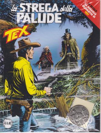 Tex - La strega della palude- n. 727  -maggio  2021 - mensile