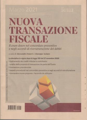 Nuova transazione fiscale - n. 1 - mensile - marzo 2021