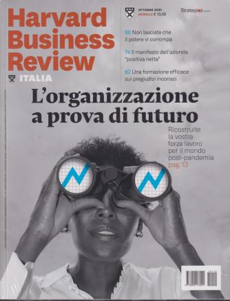 Harvard Business Review - n. 10 - ottobre  2021 - mensile