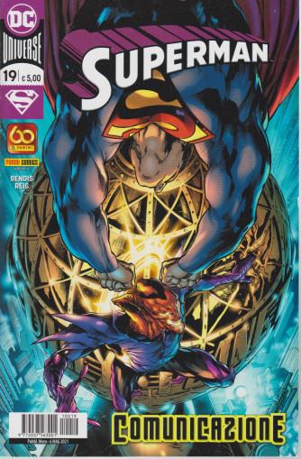 Superman -Comunicazione- n. 19 - mensile - 6 maggio  2021