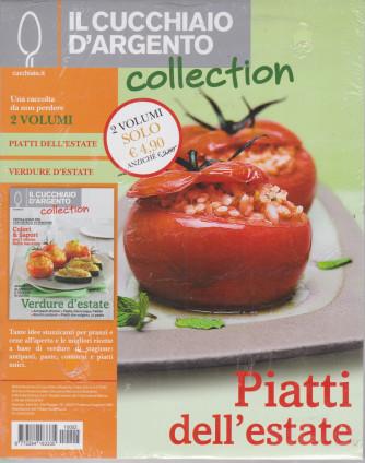 Il cucchiaio d'argento collection - n.2-   2 volumi - Piatti dell'estate - Verdure d'estate -