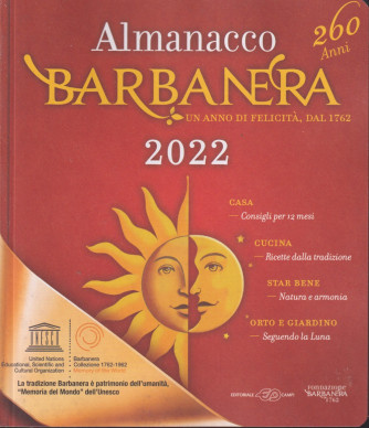 Almanacco Barbanera 2022 - n. 4 - trimestrale . 23/10/2021