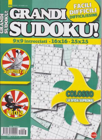 Grandi sudoku - n. 66 - 30/7/2021 - bimestrale