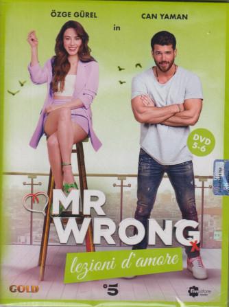 Mr Wrong - Lezioni d'amore - n. 20-  terza uscita  - 2 dvd + booklet - 4 settembre  2021   - settimanale