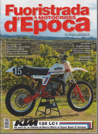 Fuoristrada & Motocross d'Epoca - n. 1 - bimestrale - gennaio - febbraio 2021