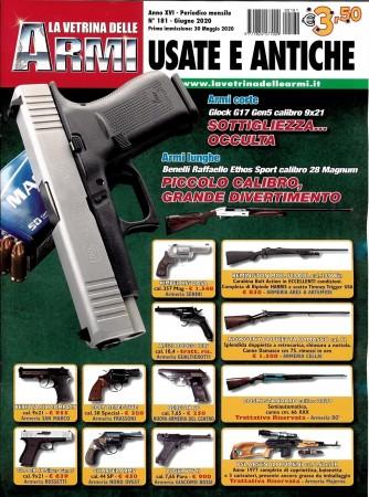 La vetrina delle armi usate e antiche - n. 181 - mensile - giugno 2020