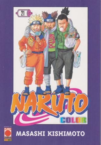 Naruto color - n. 21  settimanale -