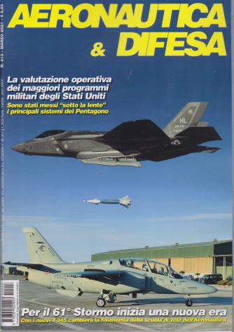 Aeronautica & Difesa - n. 413 - marzo 2021 - mensile