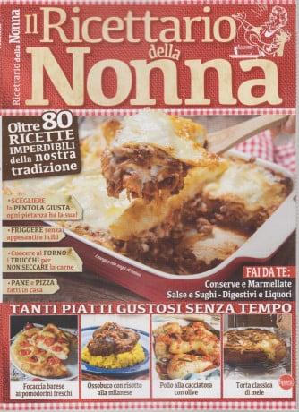 Cucina Tradizionale Speciale - Il ricettario della nonna - n. 6 - bimestrale - febbraio - marzo 2021