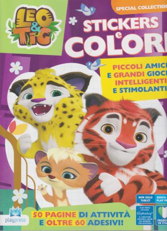 Leo & Tig Stickers e colori - n. 7 -marzo - aprile  2021- bimestrale -