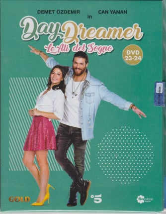 Day Dreamer - Le ali del sogno - n. 13 -dodicesima  uscita   - 2 dvd + booklet -17 aprile  2021   - settimanale