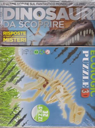 Dinosauri da scoprire + Ecologic puzzle 3 - n. 7 - marzo - aprile 2021 - bimestrale - 2 riviste