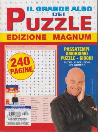 Il Grande Albo dei puzzle - Edizione magnum - n. 8- trimestrale  -settembre / ottobre/ novembre2021 - 240 pagine