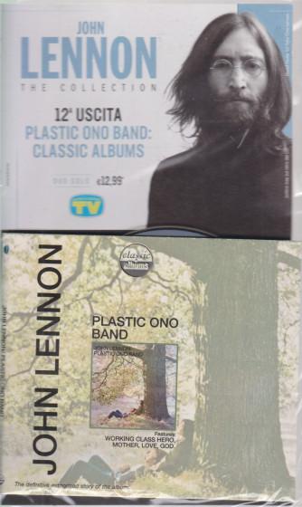 Cd Sorrisi Collezione 2 - n. 11 - John Lennon the collection - dodicesima  uscita  - Plastic ono band: classic albums -  23/2/2021 - settimanale