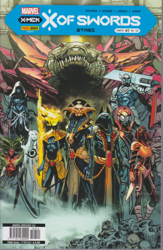 Marvel miniserie - n. 242 -- quindicinale - 11 febbraio 2021