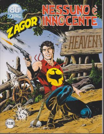 Zagor - Nessuno è innocente - n. 717 - mensile - 2 gennaio 2021