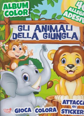 Album color - Gli animali della giungla - n. 55 - bimestrale - 17 dicembre 2020