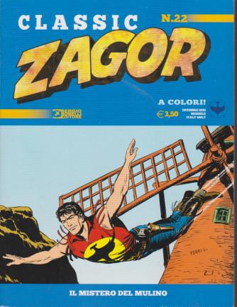 Zagor Classic - Il mistero del mulino - n. 22 - dicembre 2020 - mensile -