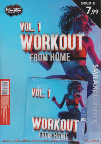 Music Party-Vol.1 - Workout from home - trimestrale - 19 febbraio 2021
