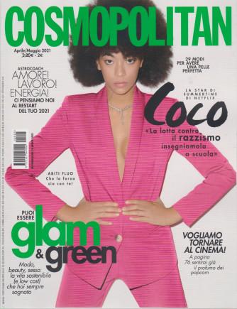 Cosmopolitan - n. 5 - aprile - maggio  2021 - mensile